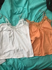 two women's white and brown camisoles Rio Rancho, 87124