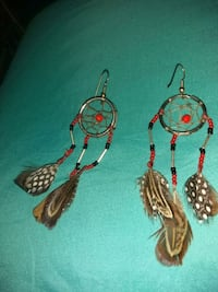Dream catcher earnings.  Hand made. Reno, 89506