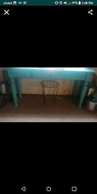 HAND PAINTED ENTRY TABLE W/DRAWER Midwest City, 73110