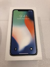 $730 White IPhone X -64GB