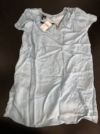 Blue chambray shirt/dress  Mississauga, L5B 0H4