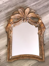 brown wooden framed mirror with table Erie, 80516