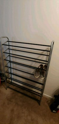 black metal shoe rack Ottawa, K1B 4L3