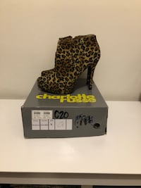 Charlotte Russe leopard booties Reston, 20191