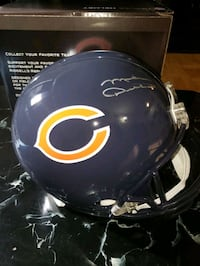 Mike ditka signed full size replica helmet with COA  Toronto, M1J 2G3