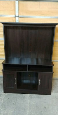 black wooden cabinet with shelf Abbotsford, V4X 1Y5