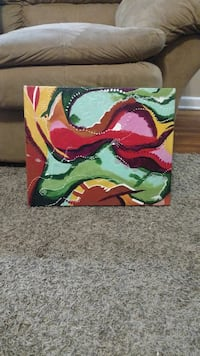 Abstract art by local artist. Hagerstown