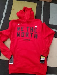 Nike We The North Playoff Hoody Size Small Toronto, M1V 4S7