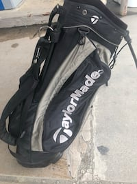 Taylormade bag and top flite club set