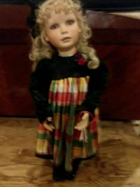 girl in red and black dress doll Stoneham, 02180
