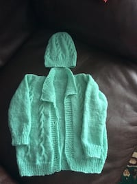 Handmade 1 yr old sweater set Calgary, T3H 4N8