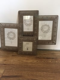 Metal picture frame.