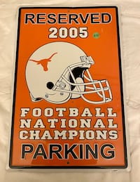 Texas National Champions 2005 Sign