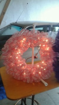 red and white beaded wreath Orangeville, L9W 5H2