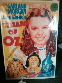 The Wizard of Oz, Spanish Movie Poster, 1939   Thomasville, 27360