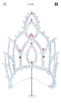Tiara or Crown Lighted Decoration or for Quinceanera Smyrna, 37167