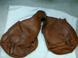 Leather sattel bag