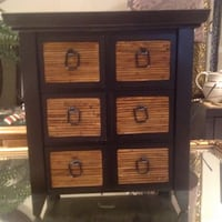 Small Decorative  Bamboo Six drawer chest Barrie, L4M 0C3