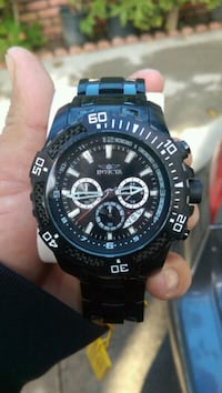round black Casio G-Shock digital watch Santa Ana, 92707