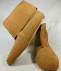 brown suede mid-calf boots Blue Bell, 19422