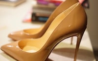 patent leather, Christian Louboutin's Pigalle Follies pumps Ashburn, 20147