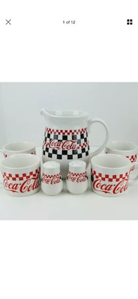 7 piece coca-Cola stoneware serving set Wilkes-Barre, 18701