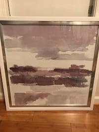 Large framed purple painting Virginia Beach, 23451