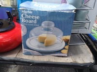 Brand new Marble cheese board with glass dome Toronto, M9B 1G5
