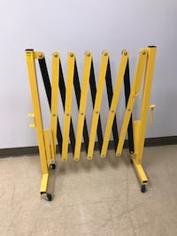 Portable Folding Barrier on Casters from Uline  Saint Petersburg, 33716