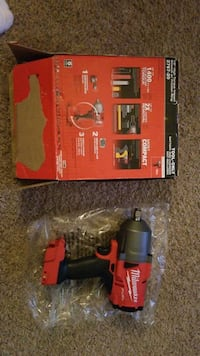 """1/2"""" High torque impact wrench w/ friction ring"""