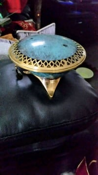 round black and brown wooden table Hamilton, L8J 2W9