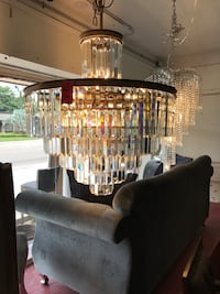 Large chandelier 32 x 32 - Retail price $ 4000 Tampa, 33609