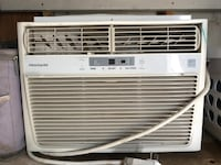 White frigidaire window-type air conditioner