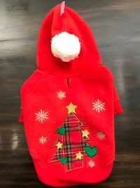 Festive Dog Hoodie, size small Mississauga, L5A 3B2