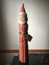 WOODEN 2 FOOT SANTA FROM THE HEIRLOOM COLLECTION NEW New York, 11225