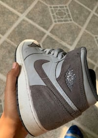 pair of gray-and-white Nike sneakers Waldorf, 20602