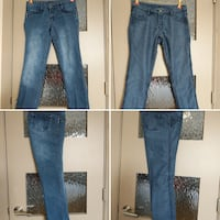 Reversible blue jeans 2 pairs in one size 26