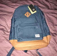Hershel backpack bnwt 3743 km