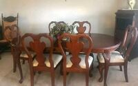 Dinning Room Table And 8 chairs Frederick