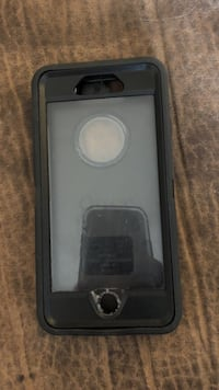 Black and clear iPhone 6 otterbox case