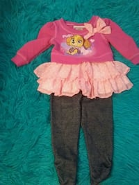toddler's pink and red tutu dress Oxnard, 93036