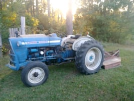 Ford 3000 Tractor with Bushhog and Attachments