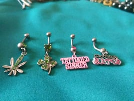 Belly button ring's