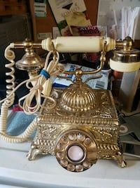 Brass Rotary phone