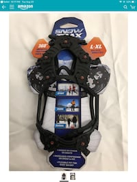 Snowtrax Fits over boots or shoes for traction Elk Grove, 95624