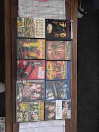 DVD and Blu-ray movies $1 ea