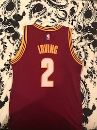 red Cleveland Cavaliers Kyrie Irving jersey shirt Mahwah, 07430