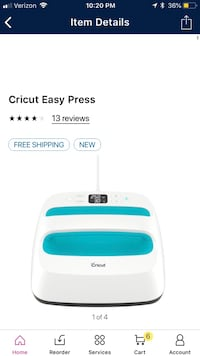 Cricut easy press  Simpsonville, 29681