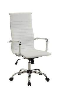 *(Still Available)*- Alessandro Conference Chair- White Richmond Hill, L4B