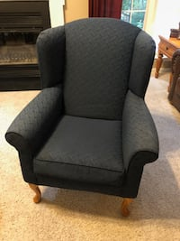 Blue Wing Chair null